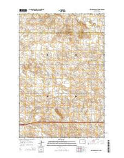 New Hradec South North Dakota Current topographic map, 1:24000 scale, 7.5 X 7.5 Minute, Year 2014 from North Dakota Maps Store