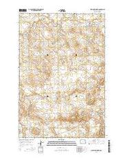 New Leipzig North North Dakota Current topographic map, 1:24000 scale, 7.5 X 7.5 Minute, Year 2014 from North Dakota Maps Store