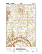 Nome SE North Dakota Current topographic map, 1:24000 scale, 7.5 X 7.5 Minute, Year 2014 from North Dakota Map Store