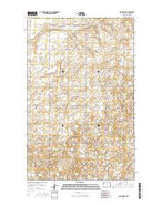 Noonan SW North Dakota Current topographic map, 1:24000 scale, 7.5 X 7.5 Minute, Year 2014 from North Dakota Map Store