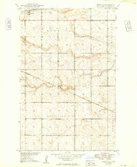 Norwich North Dakota Historical topographic map, 1:24000 scale, 7.5 X 7.5 Minute, Year 1949
