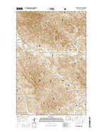 Phillip Spring North Dakota Current topographic map, 1:24000 scale, 7.5 X 7.5 Minute, Year 2014 from North Dakota Map Store