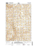 Pickardville North Dakota Current topographic map, 1:24000 scale, 7.5 X 7.5 Minute, Year 2014 from North Dakota Map Store