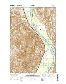 Price North Dakota Current topographic map, 1:24000 scale, 7.5 X 7.5 Minute, Year 2014