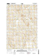 Red Butte SW North Dakota Current topographic map, 1:24000 scale, 7.5 X 7.5 Minute, Year 2014 from North Dakota Map Store