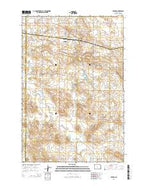 Reeder North Dakota Current topographic map, 1:24000 scale, 7.5 X 7.5 Minute, Year 2014 from North Dakota Map Store