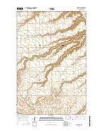 Sawyer SW North Dakota Current topographic map, 1:24000 scale, 7.5 X 7.5 Minute, Year 2014 from North Dakota Map Store