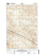 Scranton North Dakota Current topographic map, 1:24000 scale, 7.5 X 7.5 Minute, Year 2014 from North Dakota Map Store