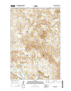 Scranton NE North Dakota Current topographic map, 1:24000 scale, 7.5 X 7.5 Minute, Year 2014 from North Dakota Map Store