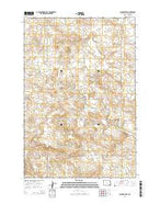 Scranton SW North Dakota Current topographic map, 1:24000 scale, 7.5 X 7.5 Minute, Year 2014 from North Dakota Map Store