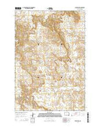 Selfridge SE North Dakota Current topographic map, 1:24000 scale, 7.5 X 7.5 Minute, Year 2014 from North Dakota Map Store