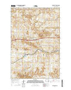Sentinel Butte North Dakota Current topographic map, 1:24000 scale, 7.5 X 7.5 Minute, Year 2014 from North Dakota Map Store