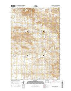 Sentinel Butte SE North Dakota Current topographic map, 1:24000 scale, 7.5 X 7.5 Minute, Year 2014 from North Dakota Map Store