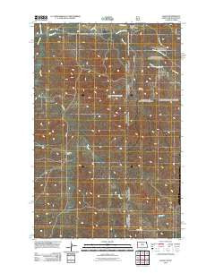 Skaar North Dakota Historical topographic map, 1:24000 scale, 7.5 X 7.5 Minute, Year 2011