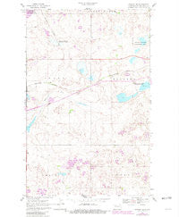 Stanley SE North Dakota Historical topographic map, 1:24000 scale, 7.5 X 7.5 Minute, Year 1981