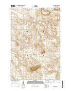 Stony Butte North Dakota Current topographic map, 1:24000 scale, 7.5 X 7.5 Minute, Year 2014 from North Dakota Map Store