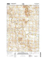 Taylor Butte North Dakota Current topographic map, 1:24000 scale, 7.5 X 7.5 Minute, Year 2014 from North Dakota Maps Store