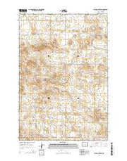 Taylor Butte SE North Dakota Current topographic map, 1:24000 scale, 7.5 X 7.5 Minute, Year 2014 from North Dakota Maps Store