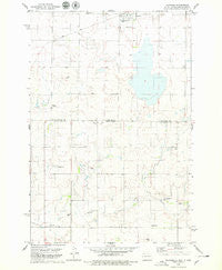 Venturia North Dakota Historical topographic map, 1:24000 scale, 7.5 X 7.5 Minute, Year 1978