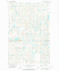 Westby Lake North Dakota Historical topographic map, 1:24000 scale, 7.5 X 7.5 Minute, Year 1978