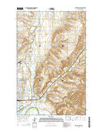 Williston East North Dakota Current topographic map, 1:24000 scale, 7.5 X 7.5 Minute, Year 2014 from North Dakota Map Store