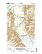Williston SE North Dakota Current topographic map, 1:24000 scale, 7.5 X 7.5 Minute, Year 2014 from North Dakota Map Store