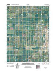 Abbott Nebraska Historical topographic map, 1:24000 scale, 7.5 X 7.5 Minute, Year 2011