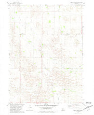 Abbott Ranch Nebraska Historical topographic map, 1:24000 scale, 7.5 X 7.5 Minute, Year 1981