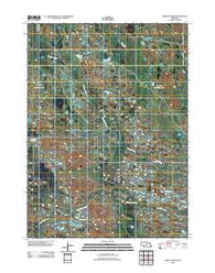 Abbott Ranch Nebraska Historical topographic map, 1:24000 scale, 7.5 X 7.5 Minute, Year 2011