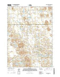 Abbott Ranch Nebraska Current topographic map, 1:24000 scale, 7.5 X 7.5 Minute, Year 2014