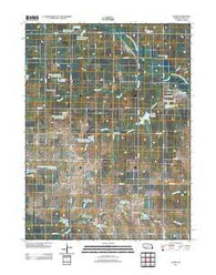 Adams Nebraska Historical topographic map, 1:24000 scale, 7.5 X 7.5 Minute, Year 2011