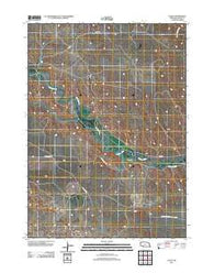 Agate Nebraska Historical topographic map, 1:24000 scale, 7.5 X 7.5 Minute, Year 2011
