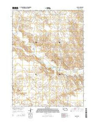 Agate Nebraska Current topographic map, 1:24000 scale, 7.5 X 7.5 Minute, Year 2014