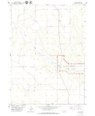 Agate Nebraska Historical topographic map, 1:24000 scale, 7.5 X 7.5 Minute, Year 1979
