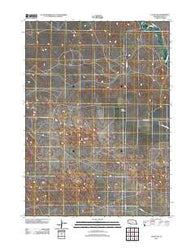 Agate NW Nebraska Historical topographic map, 1:24000 scale, 7.5 X 7.5 Minute, Year 2011