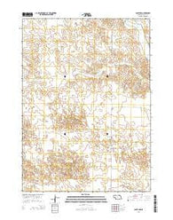 Agate NW Nebraska Current topographic map, 1:24000 scale, 7.5 X 7.5 Minute, Year 2014