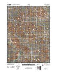 Agate SW Nebraska Historical topographic map, 1:24000 scale, 7.5 X 7.5 Minute, Year 2011