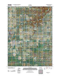 Ainsworth Nebraska Historical topographic map, 1:24000 scale, 7.5 X 7.5 Minute, Year 2011