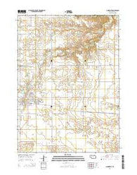 Ainsworth Nebraska Current topographic map, 1:24000 scale, 7.5 X 7.5 Minute, Year 2014