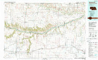 Ainsworth Nebraska Historical topographic map, 1:100000 scale, 30 X 60 Minute, Year 1985