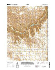 Ainsworth NW Nebraska Current topographic map, 1:24000 scale, 7.5 X 7.5 Minute, Year 2014
