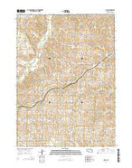 Allen Nebraska Current topographic map, 1:24000 scale, 7.5 X 7.5 Minute, Year 2014 from Nebraska Map Store