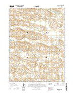 Allen Valley Nebraska Current topographic map, 1:24000 scale, 7.5 X 7.5 Minute, Year 2014 from Nebraska Map Store