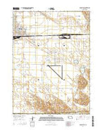 Alliance East Nebraska Current topographic map, 1:24000 scale, 7.5 X 7.5 Minute, Year 2014 from Nebraska Map Store