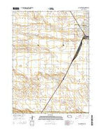 Alliance West Nebraska Current topographic map, 1:24000 scale, 7.5 X 7.5 Minute, Year 2014 from Nebraska Map Store