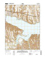 Alma Nebraska Current topographic map, 1:24000 scale, 7.5 X 7.5 Minute, Year 2014 from Nebraska Map Store