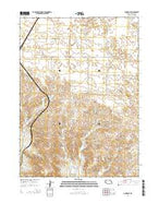 Angora SE Nebraska Current topographic map, 1:24000 scale, 7.5 X 7.5 Minute, Year 2014 from Nebraska Map Store
