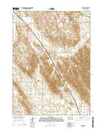 Anselmo Nebraska Current topographic map, 1:24000 scale, 7.5 X 7.5 Minute, Year 2014 from Nebraska Map Store