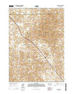 Anselmo NW Nebraska Current topographic map, 1:24000 scale, 7.5 X 7.5 Minute, Year 2014 from Nebraska Map Store