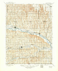 Arapahoe Nebraska Historical topographic map, 1:125000 scale, 30 X 30 Minute, Year 1896